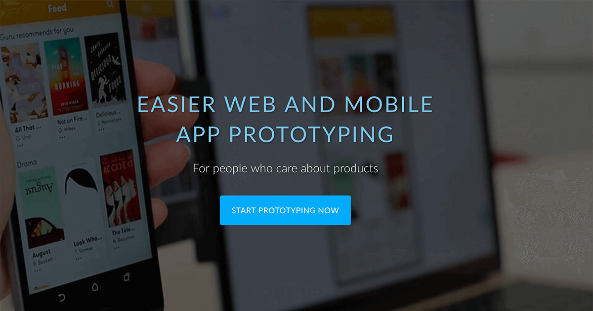 FluidUI com - Create Web and Mobile Prototypes in Minutes